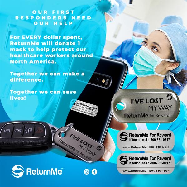 ReturnMe PPE campaign